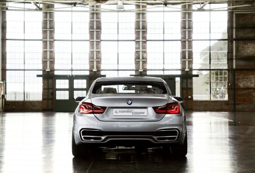 BMW Concept 4-Series Coupe F32 previewed! Image #144677