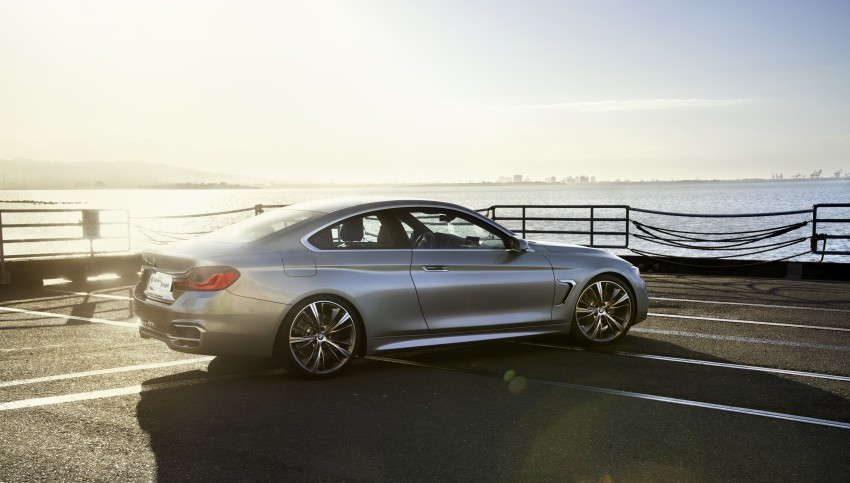 BMW Concept 4-Series Coupe F32 previewed! Image #144679