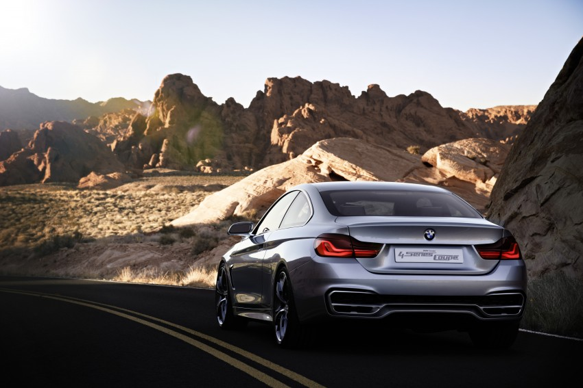 BMW Concept 4-Series Coupe F32 previewed! Image #144681