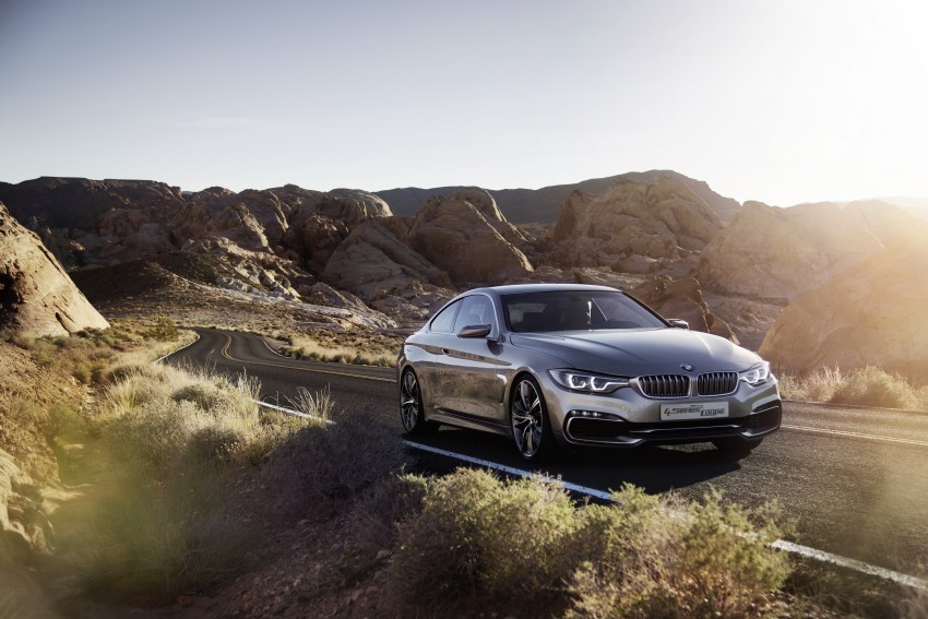BMW Concept 4-Series Coupe F32 previewed! Image #144682