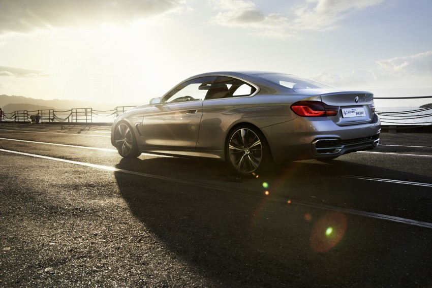 BMW Concept 4-Series Coupe F32 previewed! Image #144683