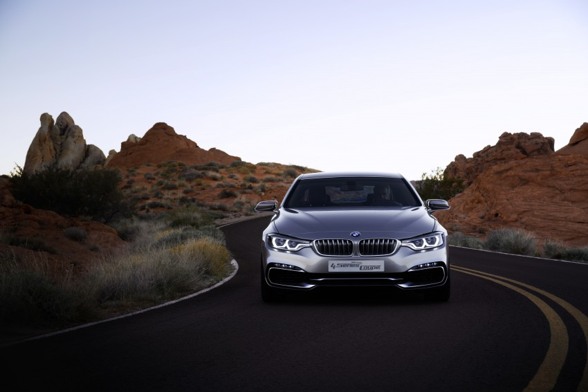 BMW Concept 4-Series Coupe F32 previewed! Image #144684