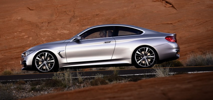 BMW Concept 4-Series Coupe F32 previewed! Image #144685
