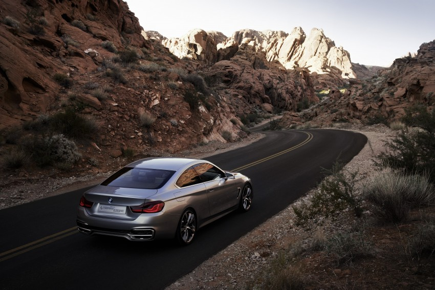 BMW Concept 4-Series Coupe F32 previewed! Image #144686