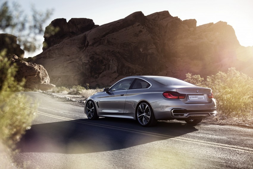BMW Concept 4-Series Coupe F32 previewed! Image #144687