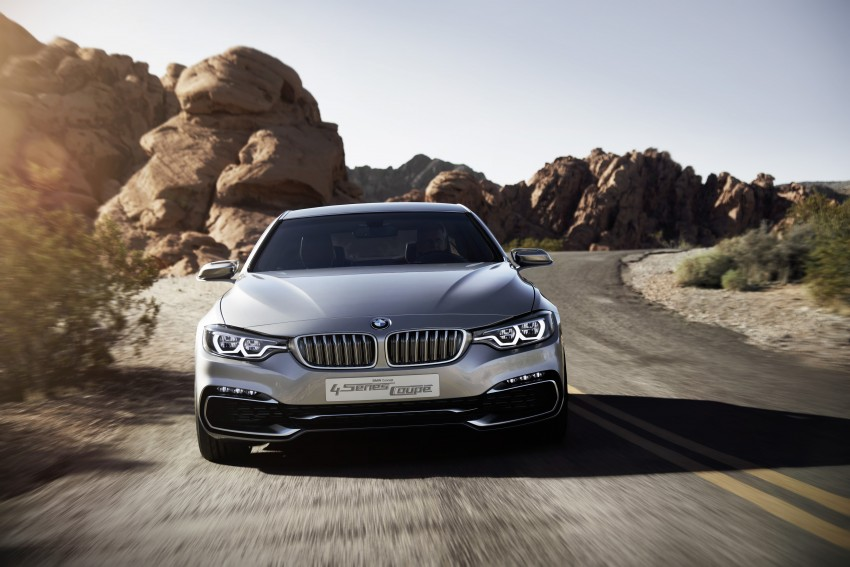 BMW Concept 4-Series Coupe F32 previewed! Image #144689