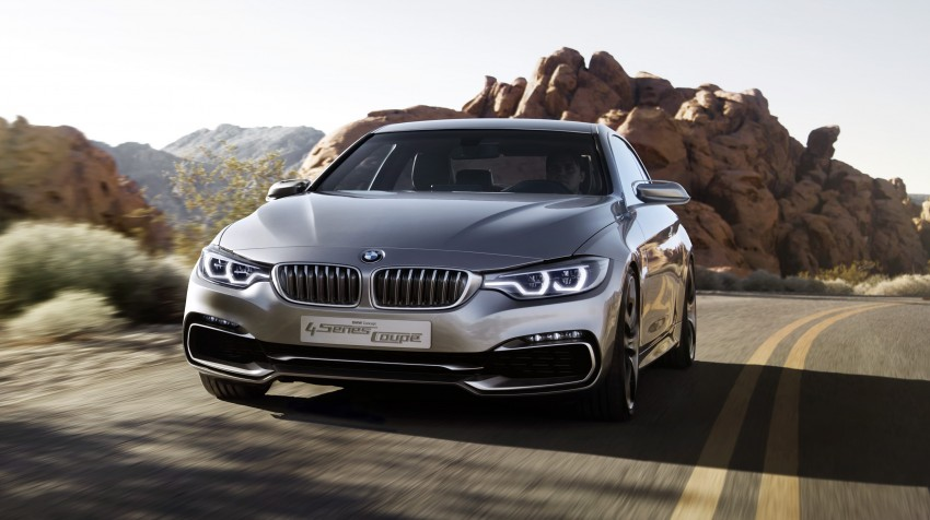 BMW Concept 4-Series Coupe F32 previewed! Image #144691