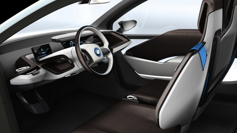 BMW i3 and i8 concepts feature new LifeDrive platform Image #68140
