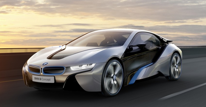BMW i3 and i8 concepts feature new LifeDrive platform Image #68141