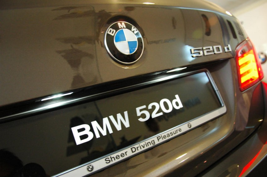 BMW Malaysia launches the F10 520d: at RM333k, it's the most affordable 5-Series in town Image #139270