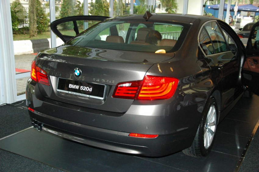 BMW Malaysia launches the F10 520d: at RM333k, it's the most affordable 5-Series in town Image #139281