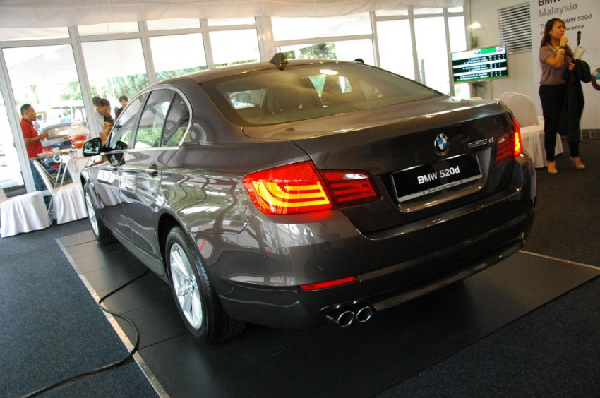 BMW Malaysia launches the F10 520d: at RM333k, it's the most affordable 5-Series in town Image #139284
