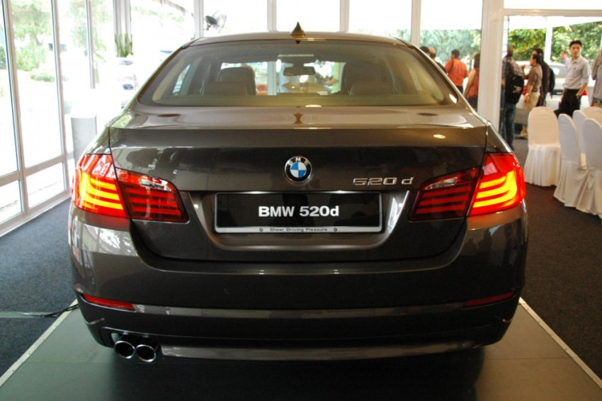BMW Malaysia launches the F10 520d: at RM333k, it's the most affordable 5-Series in town Image #139285
