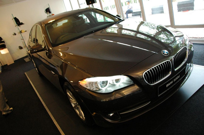 BMW Malaysia launches the F10 520d: at RM333k, it's the most affordable 5-Series in town Image #139287