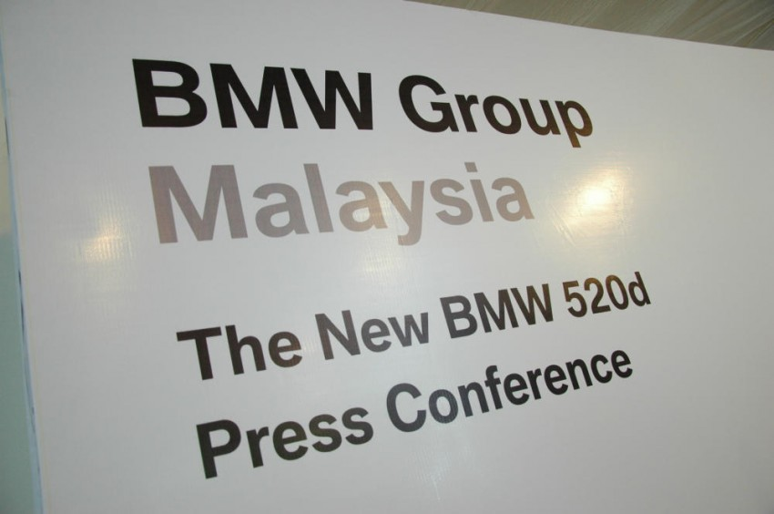 BMW Malaysia launches the F10 520d: at RM333k, it's the most affordable 5-Series in town Image #139290