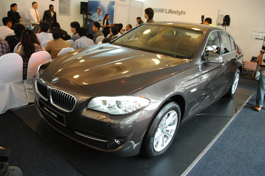 BMW Malaysia launches the F10 520d: at RM333k, it's the most affordable 5-Series in town Image #139295