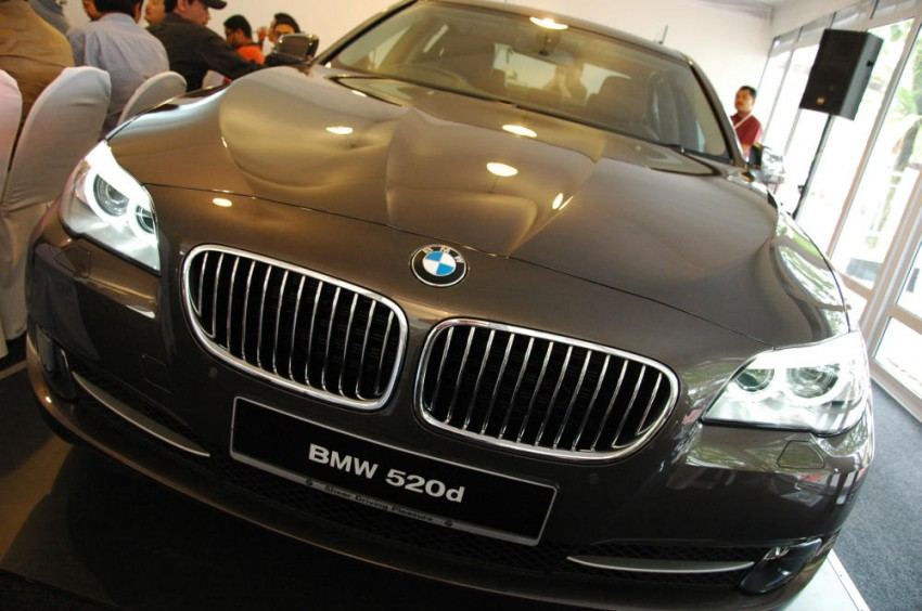 BMW Malaysia launches the F10 520d: at RM333k, it's the most affordable 5-Series in town Image #139297