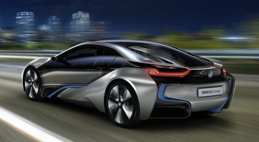 BMW i3 and i8 concepts feature new LifeDrive platform Image #68142