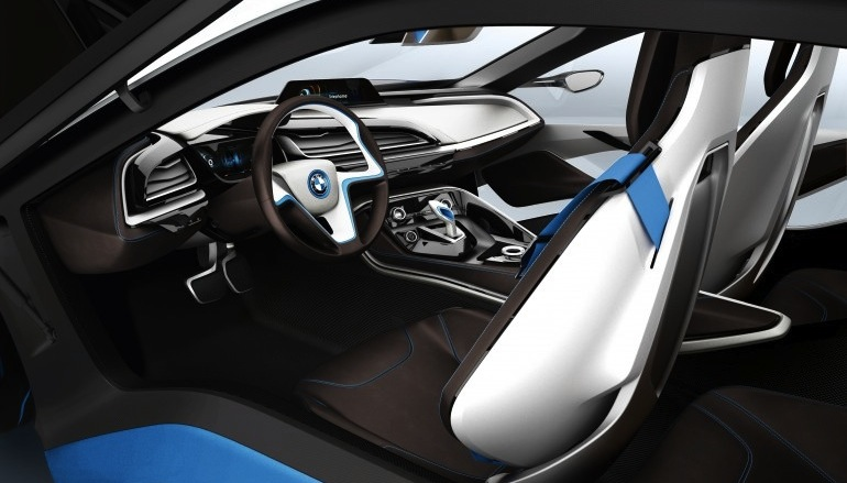 BMW i3 and i8 concepts feature new LifeDrive platform Image #68150