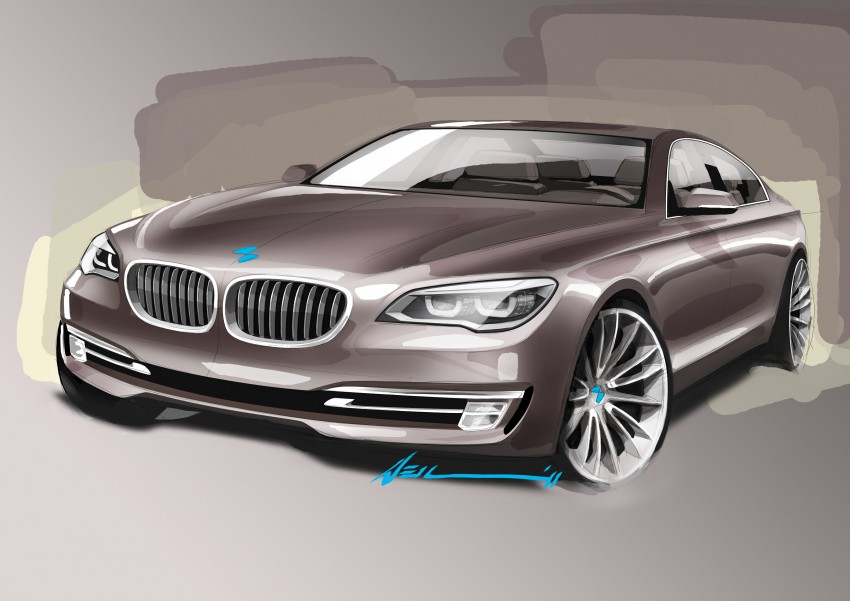 2012 BMW 7-Series LCI gets updated inside and out Image #108401