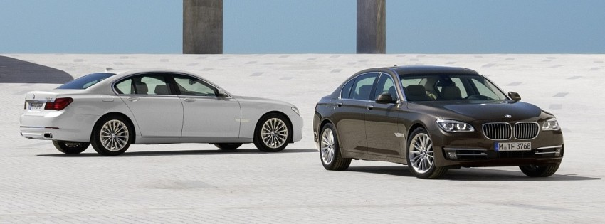 2012 BMW 7-Series LCI gets updated inside and out Image #108427