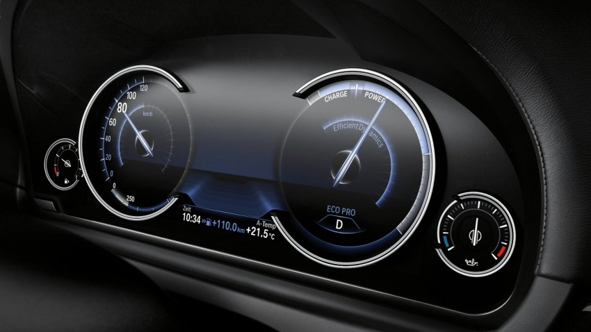 2012 BMW 7-Series LCI gets updated inside and out Image #108471