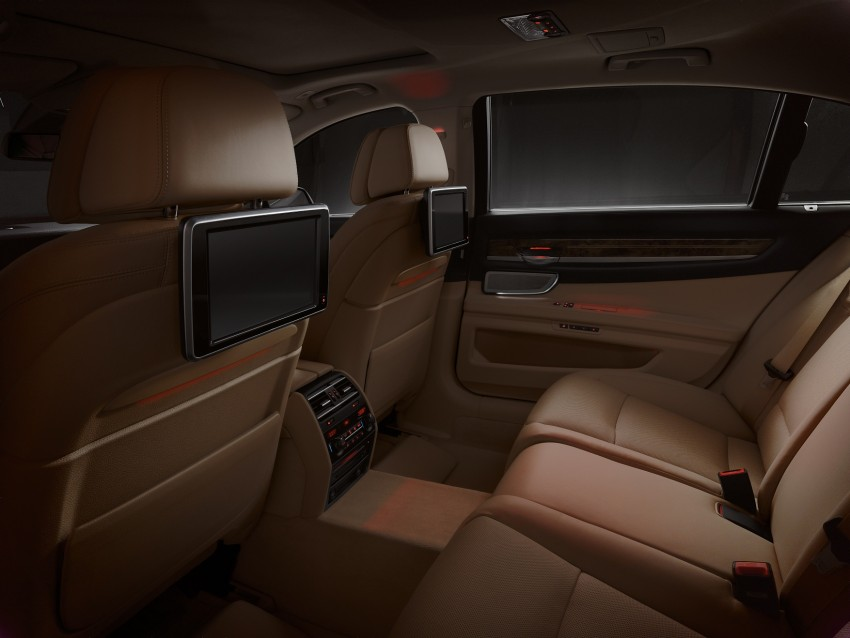 2012 BMW 7-Series LCI gets updated inside and out Image #108473