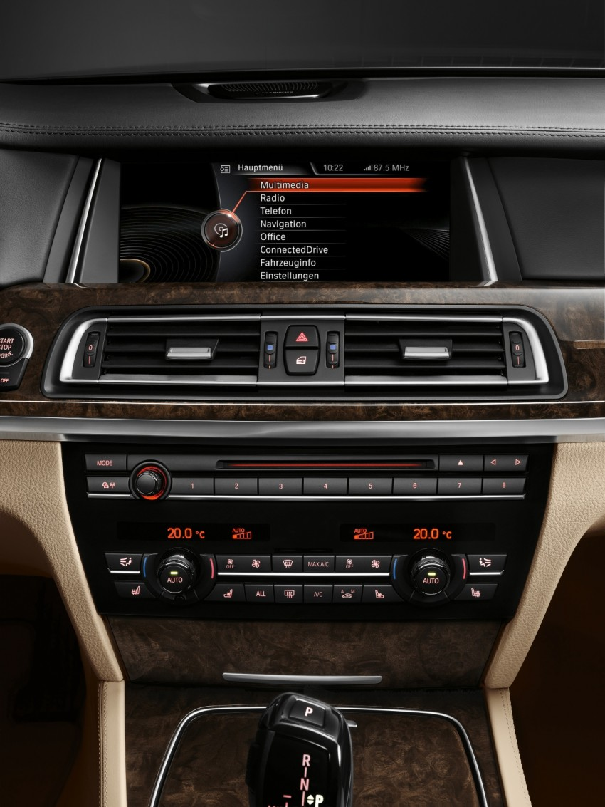 2012 BMW 7-Series LCI gets updated inside and out Image #108475