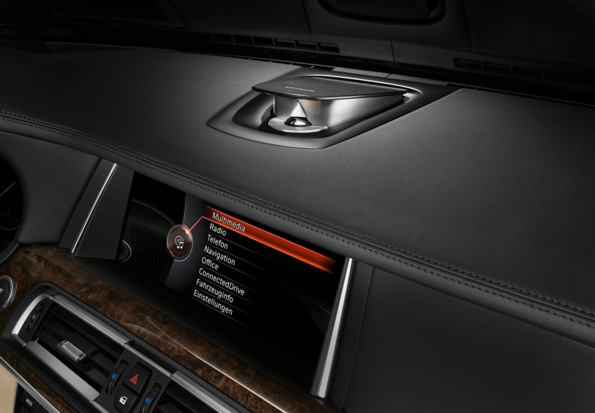 2012 BMW 7-Series LCI gets updated inside and out Image #108476