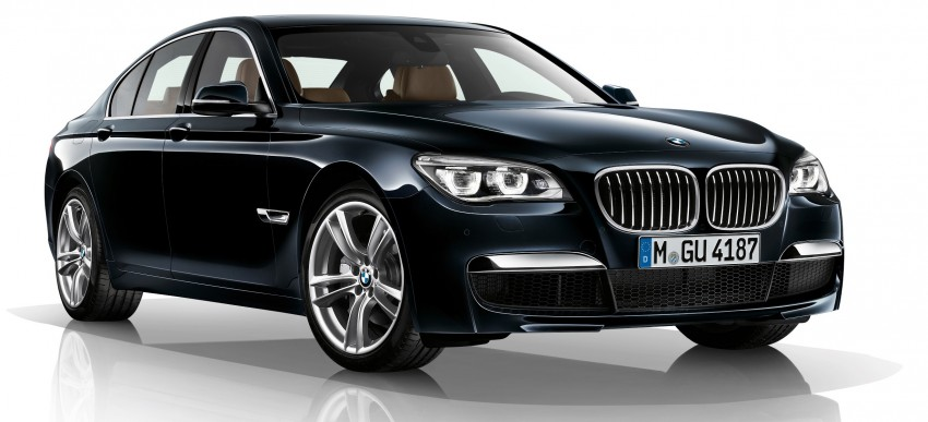 2012 BMW 7-Series LCI gets updated inside and out Image #108482