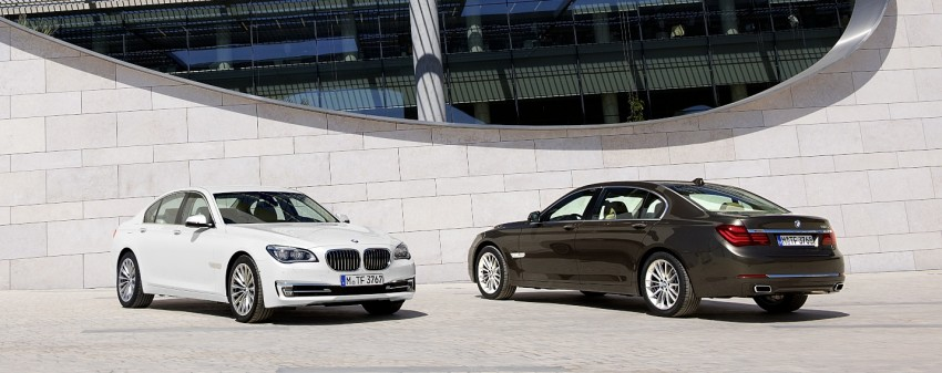 2012 BMW 7-Series LCI gets updated inside and out Image #108409