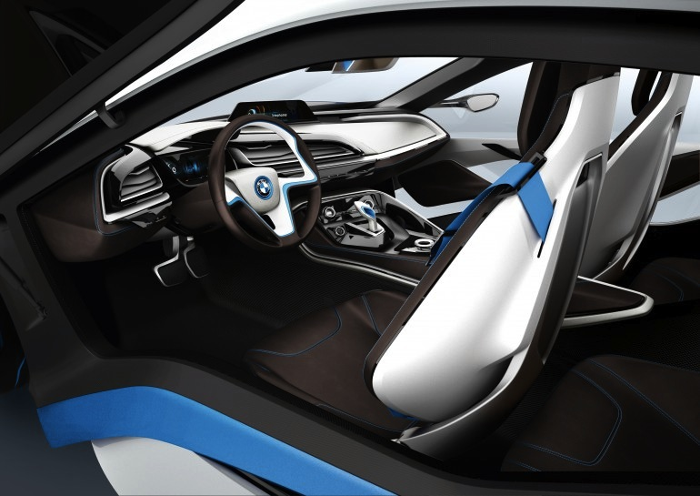 BMW i3 and i8 concepts feature new LifeDrive platform Image #68143