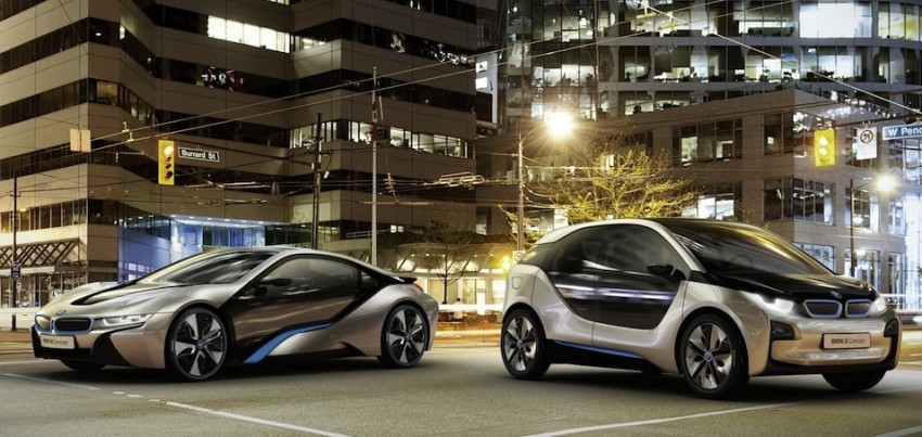 BMW i3 and i8 concepts feature new LifeDrive platform Image #68151