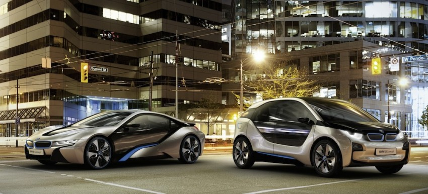 BMW i3 and i8 concepts feature new LifeDrive platform Image #68144