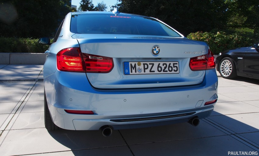 BMW ActiveHybrid 3 test drive review – is it just a 335i with an electric motor, or more? Image #135237