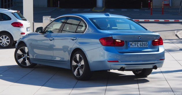 BMW ActiveHybrid 3 F30 Test Drive Review