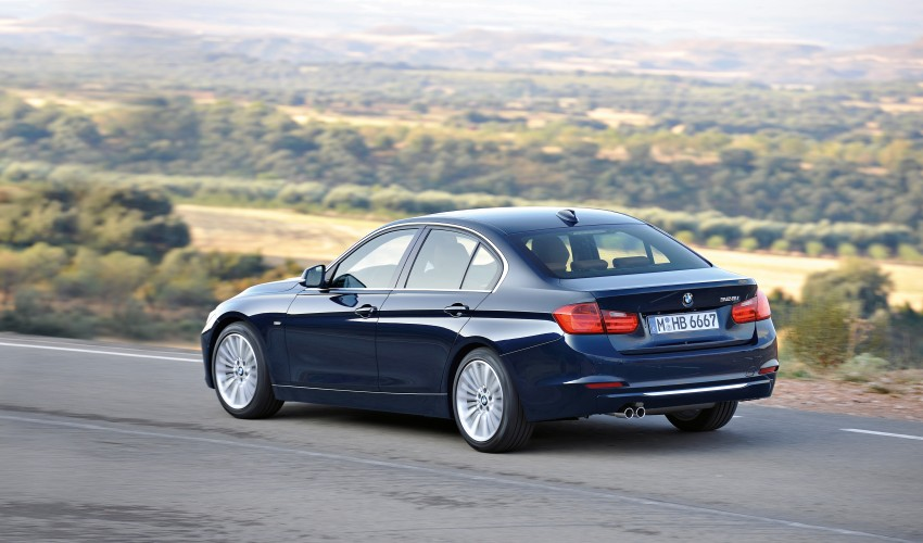 GALLERY: F30 BMW 3-Series Luxury Line (Hi-Res) Image #72892