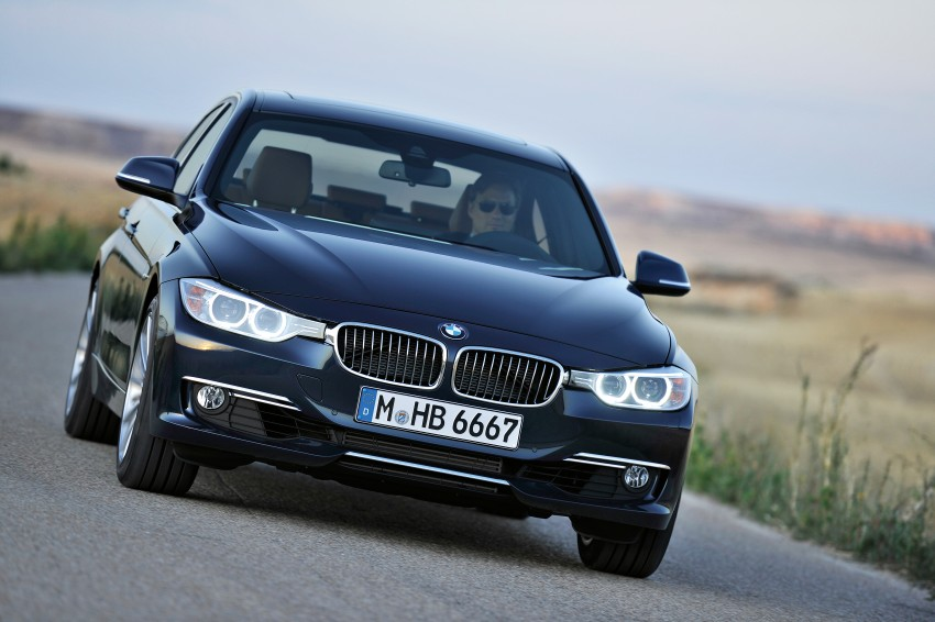 GALLERY: F30 BMW 3-Series Luxury Line (Hi-Res) Image #72894
