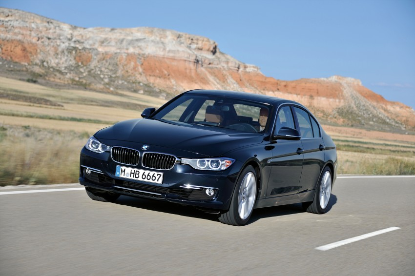 GALLERY: F30 BMW 3-Series Luxury Line (Hi-Res) Image #72900
