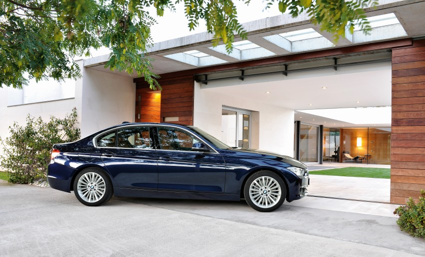 GALLERY: F30 BMW 3-Series Luxury Line (Hi-Res) Image #72901
