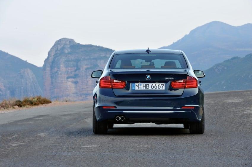 GALLERY: F30 BMW 3-Series Luxury Line (Hi-Res) Image #72904