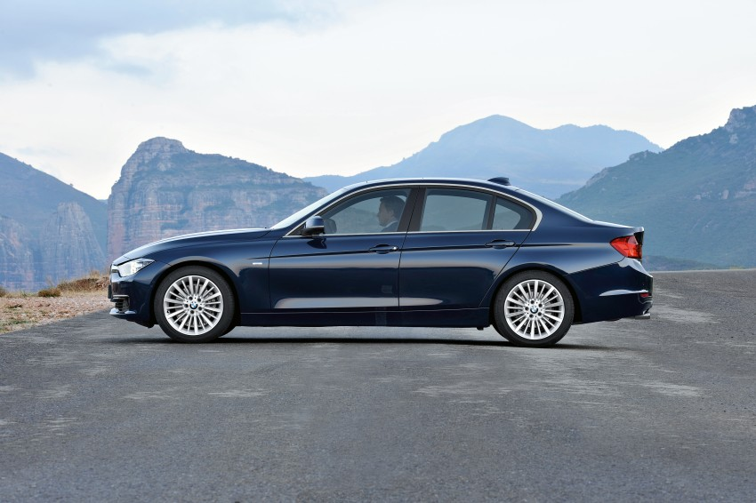 GALLERY: F30 BMW 3-Series Luxury Line (Hi-Res) Image #72906