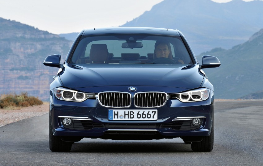 GALLERY: F30 BMW 3-Series Luxury Line (Hi-Res) Image #72907