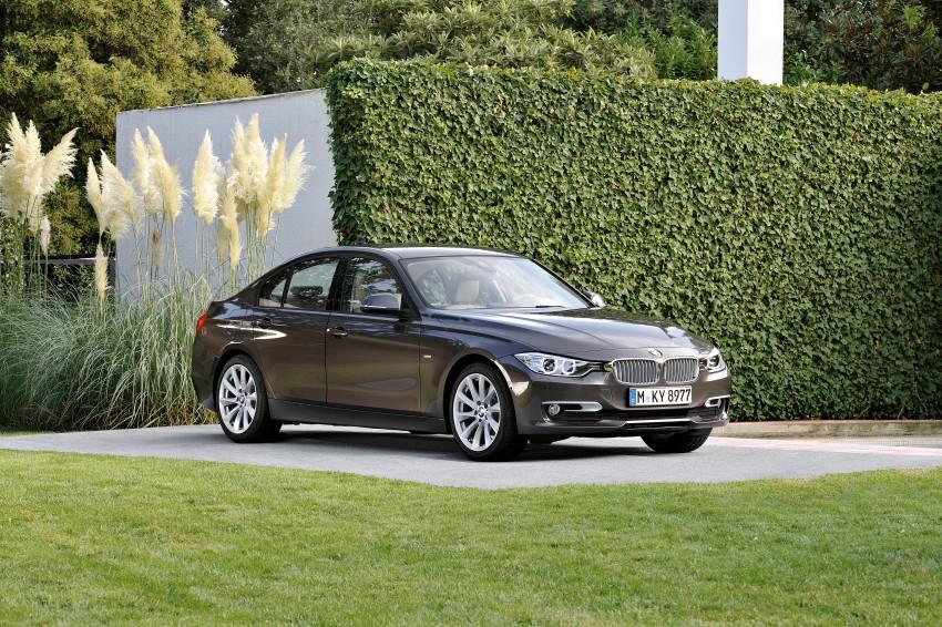 GALLERY: F30 BMW 3-Series Modern Line (Hi-Res) Image #72882