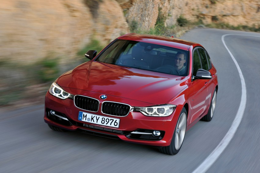 GALLERY: F30 BMW 3-Series Sport Line (Hi-Res) Image #72851