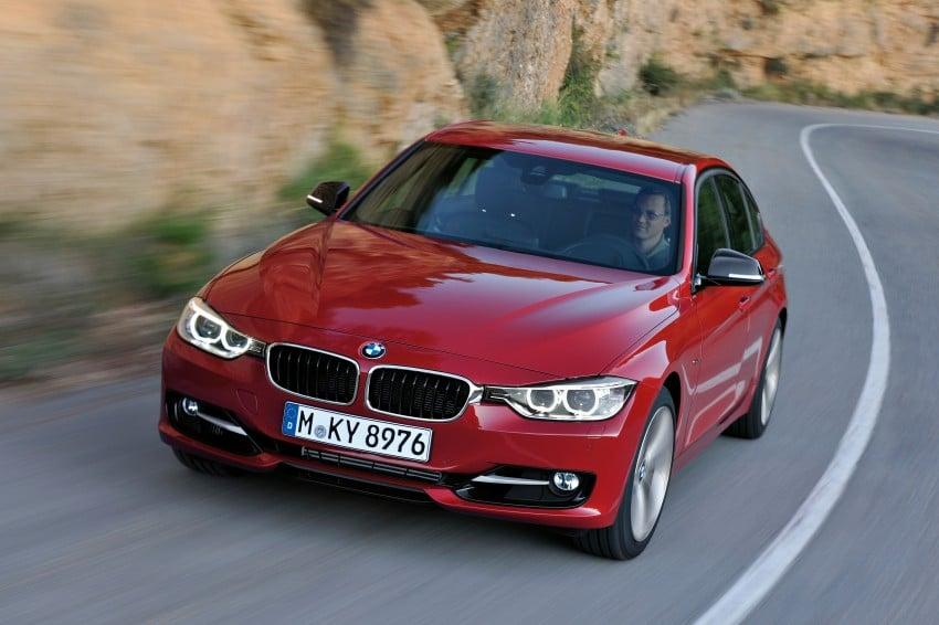 GALLERY: F30 BMW 3-Series Sport Line (Hi-Res) Image #72851