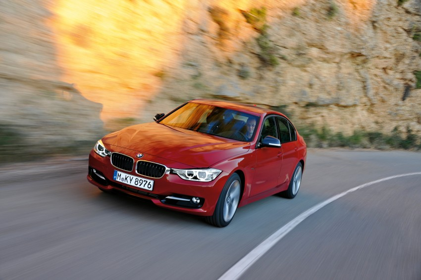 GALLERY: F30 BMW 3-Series Sport Line (Hi-Res) Image #72852