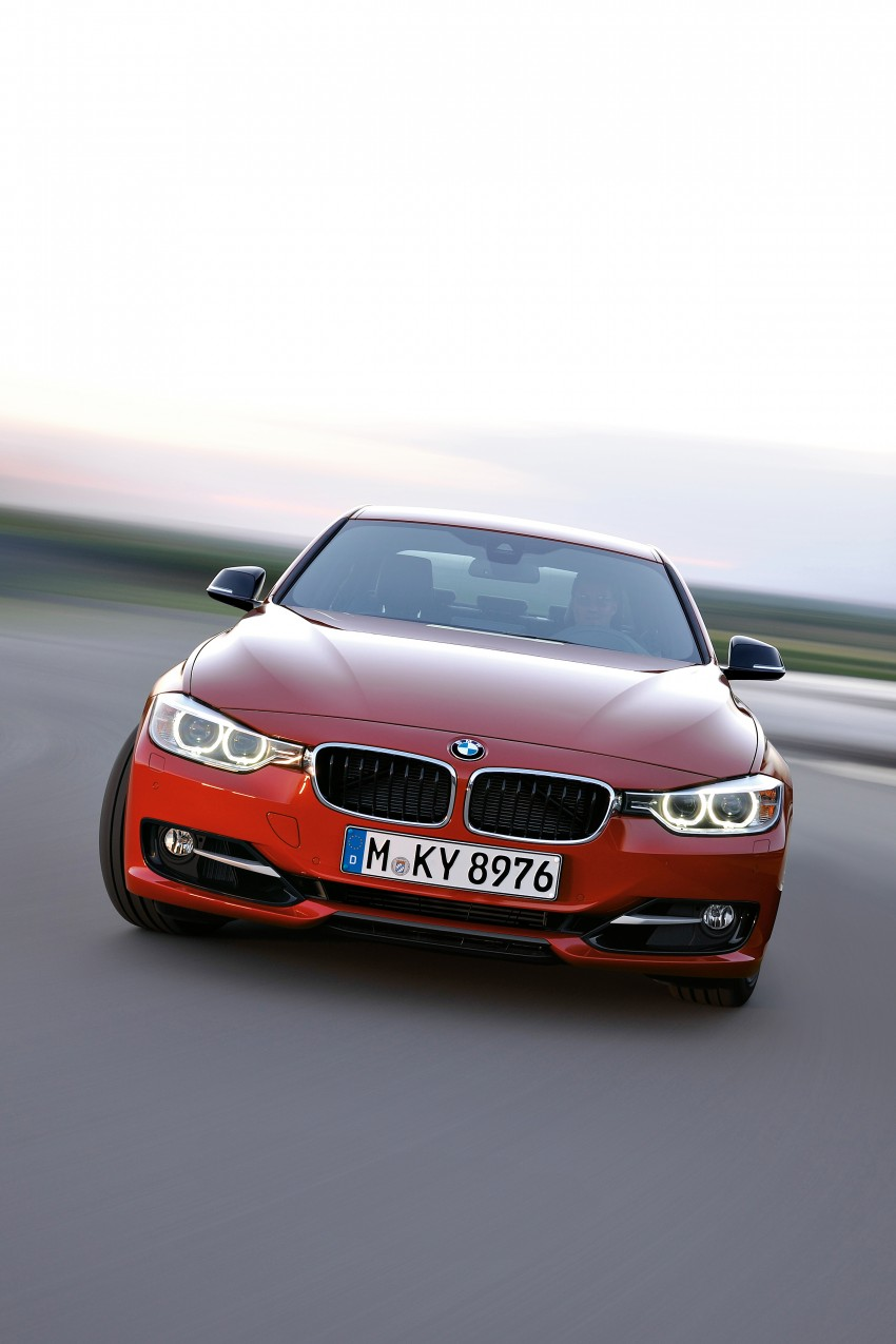 GALLERY: F30 BMW 3-Series Sport Line (Hi-Res) Image #72854