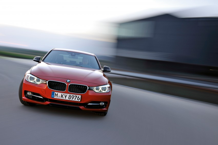 GALLERY: F30 BMW 3-Series Sport Line (Hi-Res) Image #72859