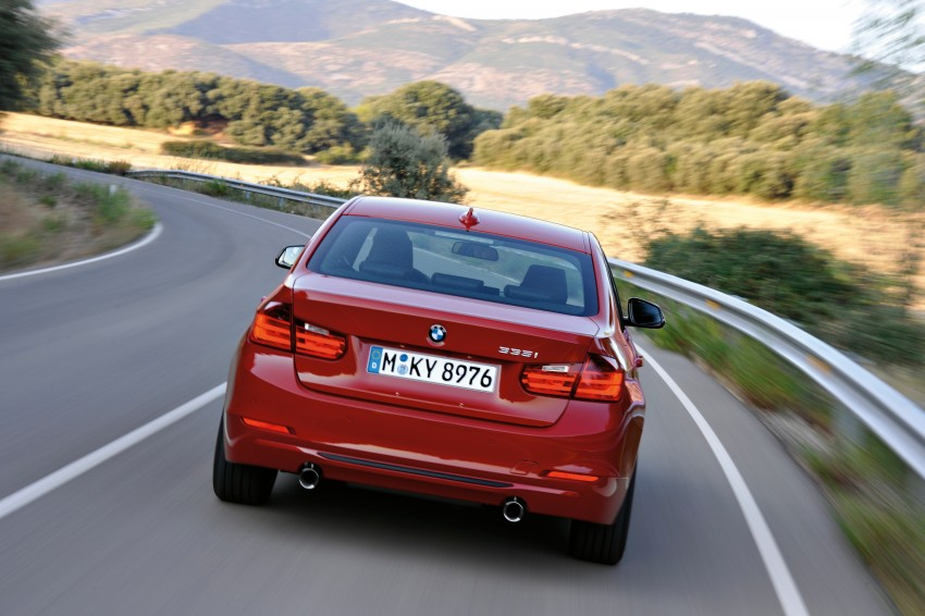 GALLERY: F30 BMW 3-Series Sport Line (Hi-Res) Image #72841